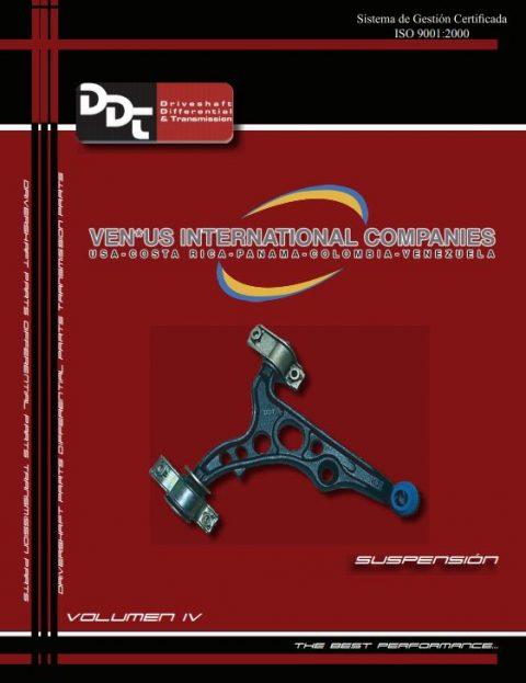 Repuestos Automotrices - VENUS International - Guía IV